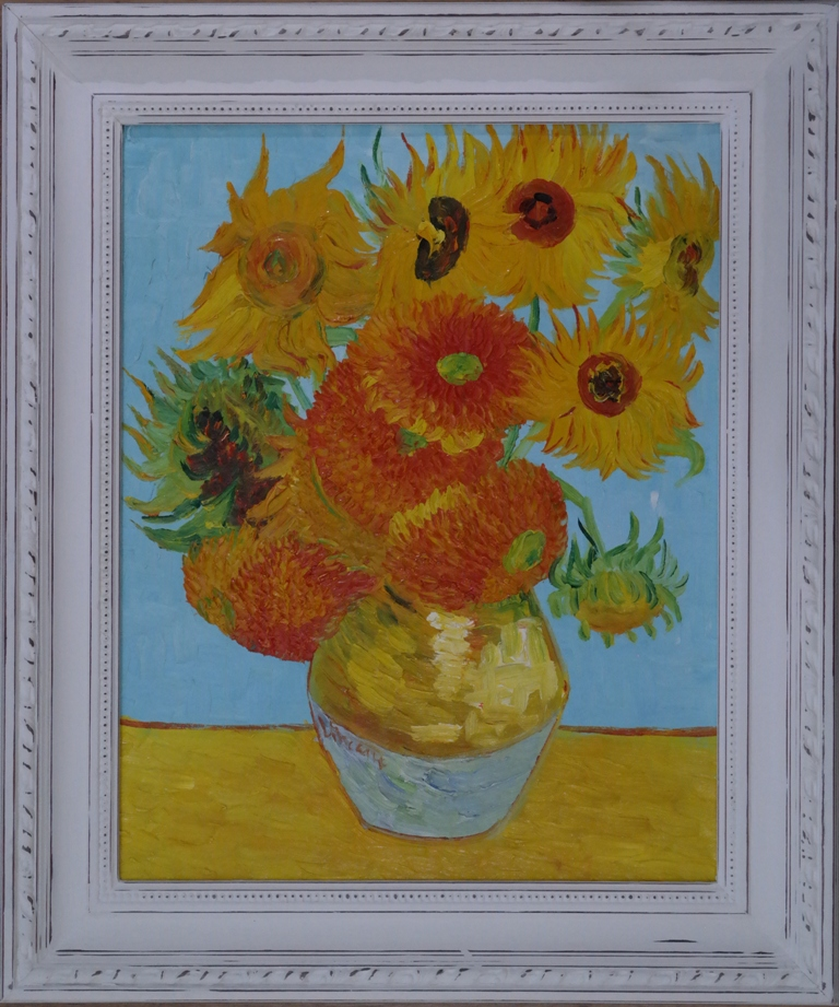 Van Gough Inspired Oil Painting Gallery42 Warner Street Accrington