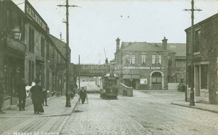 Market Street Church Accrington 1910.